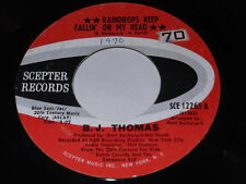 B.J. Thomas: Raindrop's Keep Fallin' On My Head / Never Had It So Good 45