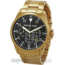 *NEW* MICHAEL KORS MENS GAGE CHRONOGRAPH GOLD WATCH - MK8361 - RRP £259