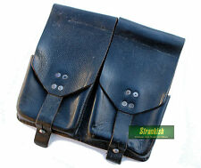 VINTAGE AUSTRIA AUSTRIAN ARMY Stg58 LEATHER DUO AMMO POUCH