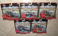 MICRO MACHINES GRAND PRIX 5 Complete Set #1 #2 #3 #4 #5 10 Cars New HASBRO