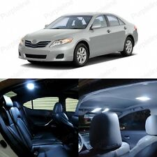 10 x White LED Interior Lights Package Kit Deal For Toyota Camry 2007 - 2011