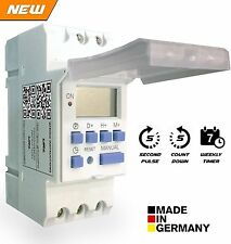 Euro Digital Timer Controller - Made in Germany - Weekly / Daily / Pulse / Count