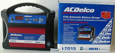 FULLY  AUTOMATIC BATTERY CHARGER  AC DELCO  I-7015