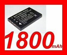 "★★★ ""1800mA"" BATTERIE Lithium ion ★ Pour Panasonic CGA-S301 /VW-VBA10/VQ-VBA12"