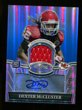 Dexter McCluster 2010 Bowman Sterling Auto Patch Refractor Rookie Chiefs 21288