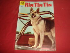 RIN TIN TIN #13  Late Gold / Early Silver Age Dell Comics 1956 VF
