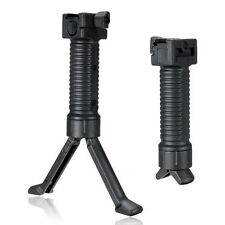 Black Tactical Vertical De 20 Mm RIS bípode Foregrip Riel Picatinny Airsoft Nueva Hot