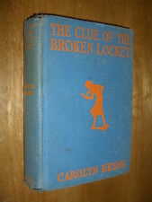 Nancy Drew The Clue of the Broken Locket by Carolyn Keene First Edition HC 1934