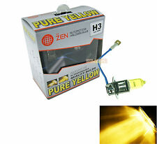 X2 H3 Type 2800K Xenon HID Halogen Headlight Bulb Pure Yellow Fog Lamp Headlamp