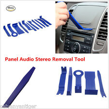 11×Blue Nylon Car Panel Dash Audio Stereo GPS Molding Trim Removal Install Tools