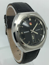 RADO VOYAGER AUTOMATIC BLACK DIAL  25 J  MAN,S  WATCH  (MINT  CONDITION)