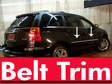 chrysler PACIFICA CHROME BELT TRIM 2004 05 06 07 08