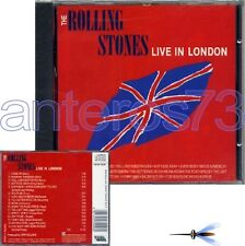 "THE ROLLING STONES ""LIVE IN LONDON"" RARE CD ITALY SEALE"