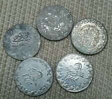 Lot of 5 Otoman Empire -Turkey Unidentified  Coins