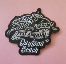 Bike Week 71st Annual Daytona Beach 2012 (B&W)  New Patch