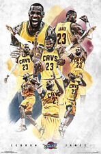 Cleveland Cavaliers - Lebron James 2015 Poster 22x34 Sports Basketball NBA