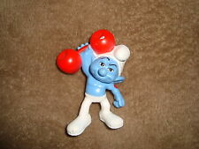 2011 Smurfs Mcdonalds Happy Meal Toy Hefty Smurf 3.25""