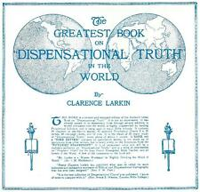 DISPENSATIONAL TRUTH by Clarence Larkin  - Original 1918, 1920 Hardcover Edition