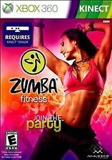Zumba Fitness RE-SEALED Microsoft Xbox 360 JOIN THE PARTY GAME