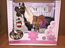 """Pinto Quarter Horse Large 18"""" Play Stallion Equestrian Our Generation Doll Toy"""