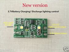 2A Solar Panel Controller 3.7V Lithium Battery Charge/Discharge & Light control
