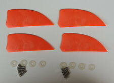 4 pcs 2 inch fin for kiteboard kitesurfing kiteboarding, fly surfing