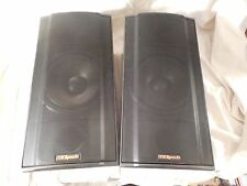 Nice, Clean Pair Klipsch KSB 2.1 Main / Surround / Theater / Bookshelf Speakers