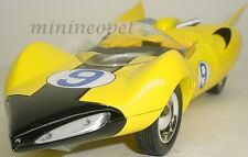 ERTL 33261 SPEED RACER X SHOOTING STAR REPLICA 1/18 DIECAST MODEL YELLOW