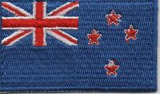 Embroidered NEW ZEALAND Flag Iron on Sew on Patch Badge HIGH QUALITY