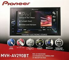 NEW Pioneer MVH-AV290BT Mechless Bluetooth In-Dash Digital Media Car Stereo