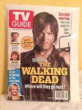 TV GUIDE MAGAZINE 2014 DARYL DIXON THE WALKING DEAD 1 OF 3 COVERS