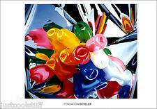 Jeff KOONS Tulips Fondation Beyeler Offset Lithograph Poster Print