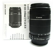 CANON EF-S 55-250MM F/4-5.6 IS II CAMERA LENS