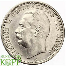 Z764) J.38 BADEN 2 Mark 1913 G - Friedrich II. 1907-1918