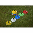50 Mitre Space Markers / Training Cones With Stand & Mesh Carry Bag