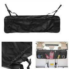Car Trunk Cargo Organizer Collapsible Folding Sundries Storage Box Pocket black