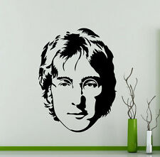 John Lennon Wall Decal The Beatles Music Vinyl Sticker Home Mural (281su)