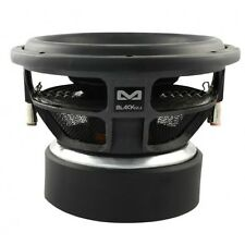 AMPIRE BLACK12.1 Subwoofer, 30cm/12'', 1 + 1 Ohm, 5000 Watt