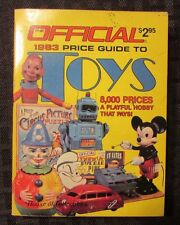 1983 Official Price Guide To TOYS 1st House of Collectibles FN 228 pgs