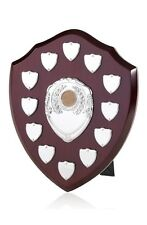 ANNUAL SHIELD HIGH QUALITY WOODEN PERPETUAL TROPHY AWARD 12 SIDE SHIELDS BPS10