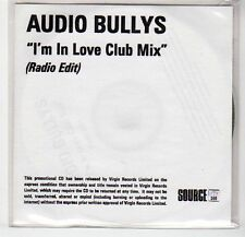 (EF303) Audio Bullys, I'm In Love Club Mix - DJ CD