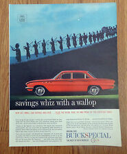 1961 Buick Special Sedan Ad   Irish  Bag Pipe Players