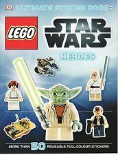 CHILDREN'S DK ULTIMATE REUSABLE STICKER BOOK: LEGO STAR WARS: HEROES