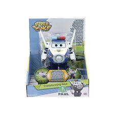 Super Wings Paul , Aereo Robot Personaggio Trasformabile - Giochi preziosi