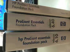 HP Proliant Essentials Foundation Pack Release 6.40 CD