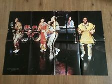 VINTAGE POSTER EARTH WIND & FIRE - YEAR 1980 RARO - PERFETTO! cm. 84 x 56 ITALY