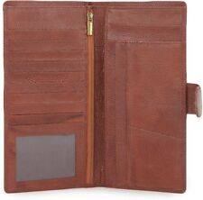 Modish Designs  Genuine Leather Travel Passport Case/ Document holder - Tan