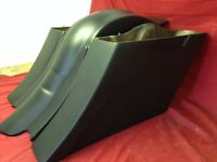 """Harley Davidson 6"""" Extended Stretched Out & Down Saddlebags - 89-2013 Style Bags"""