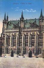 AK - CPA - Bruges - l´Hotel de Ville - Brugge - Editeur Jules Nahrath & Cie.