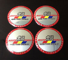 Wheel 56mm Center Cap Sticker Set 4pcs Mugen Power Specialist
